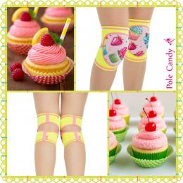 Pole Candy ニーパッド Sweet Cupcakes